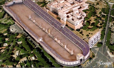 Circus Maximus And Pantheon Roman Travels